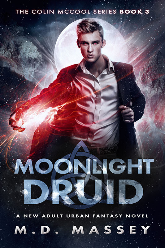 Moonlight Druid new adult urban fantasy novel