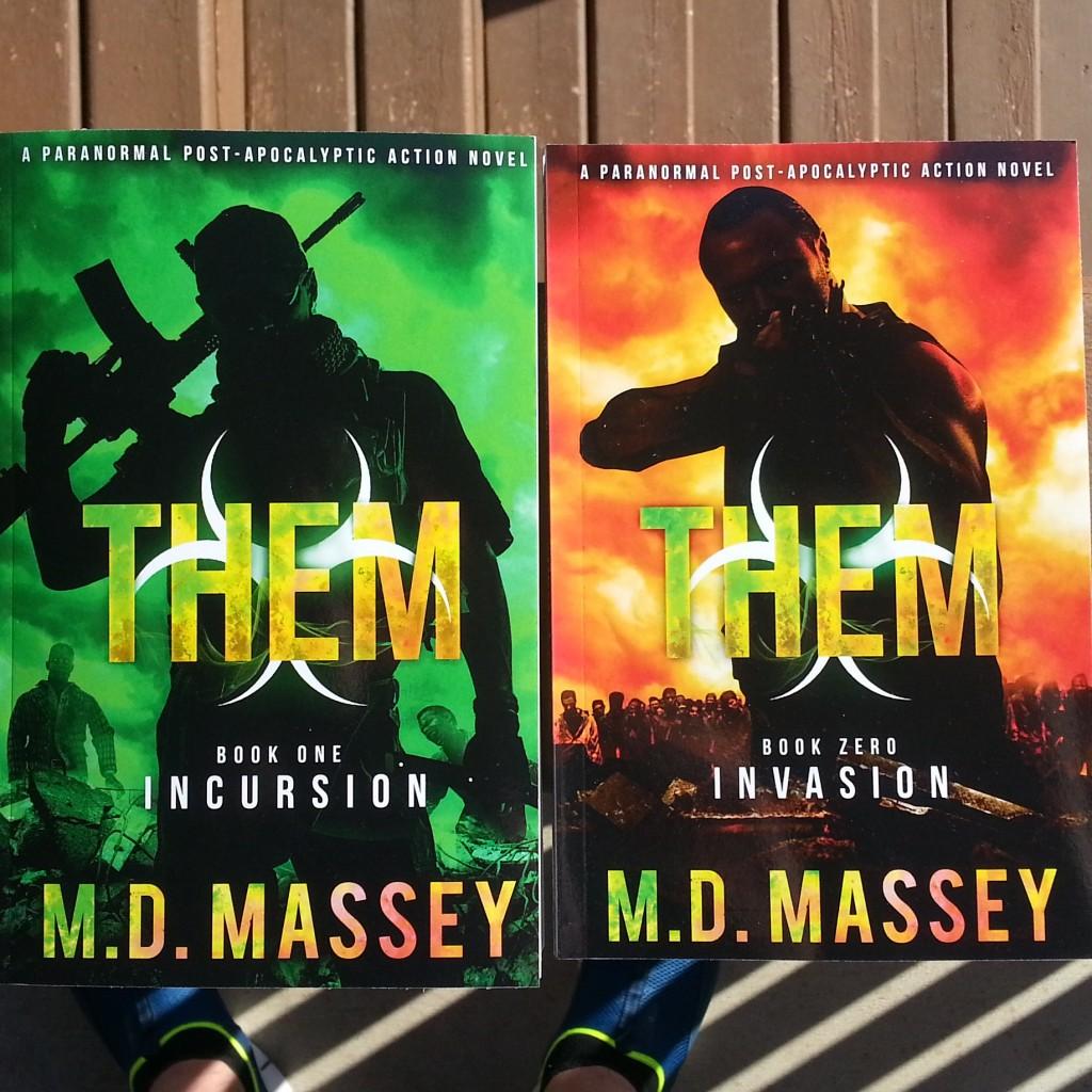 THEM zombie apocalypse novel series