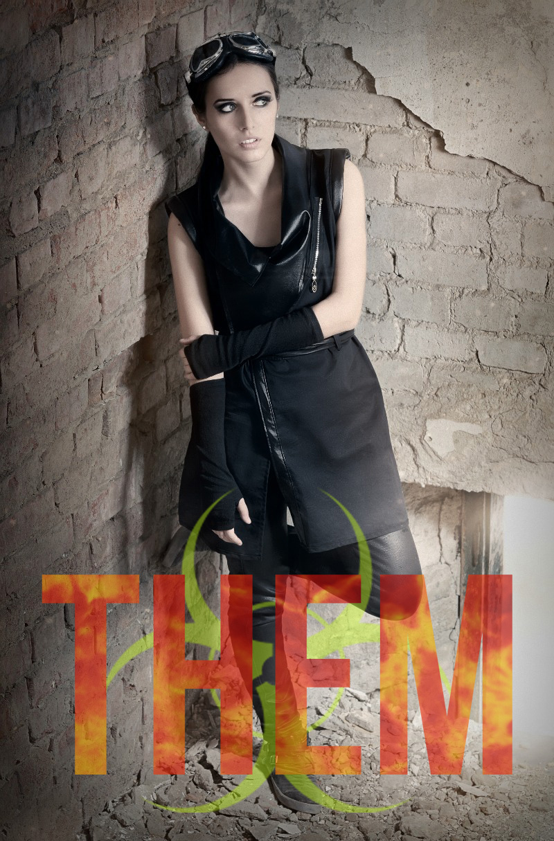 paranormal post-apocalyptic girl THEM book series