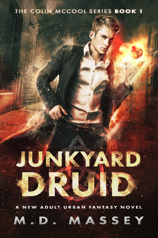 Junkyard Druid new adult urban fantasy