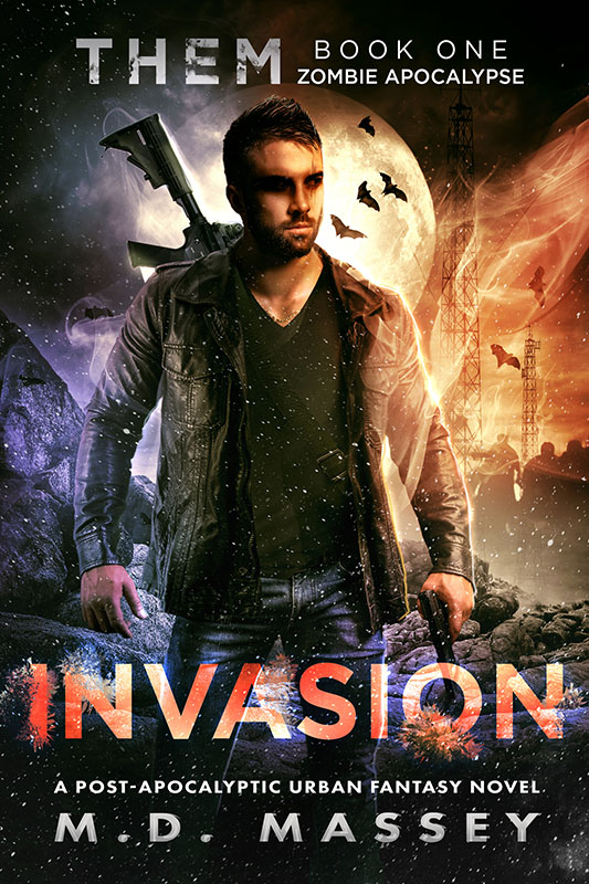 THEM Invasion post-apocalyptic urban fantasy