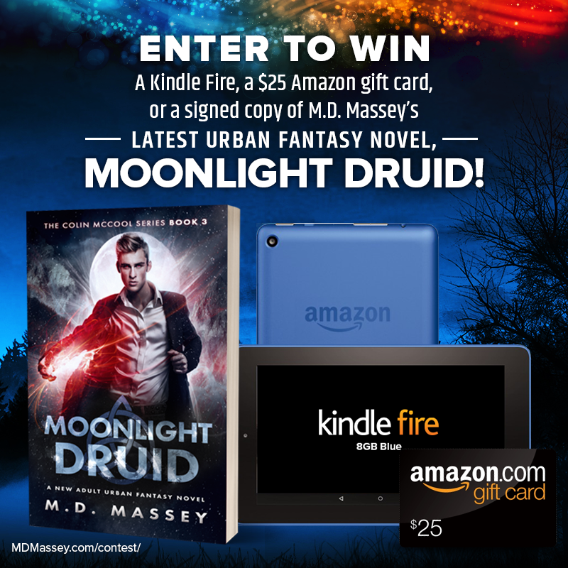 Urban Fantasy Kindle Fire Giveaway Contest