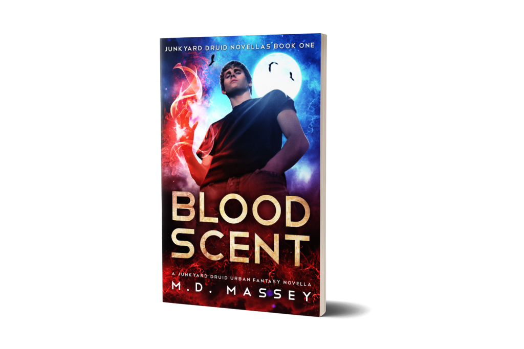 Blood Scent Urban Fantasy Novella by MD Massey