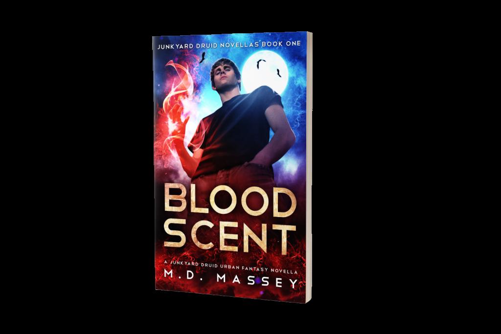 Blood Scent Urban Fantasy Novella by MD Massey