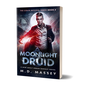 Moonlight Druid Urban Fantasy Novel by MD Massey