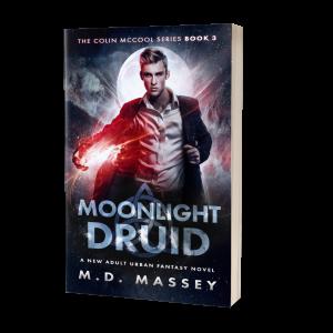 Moonlight Druid Urban Fantasy Novel by MD Massey
