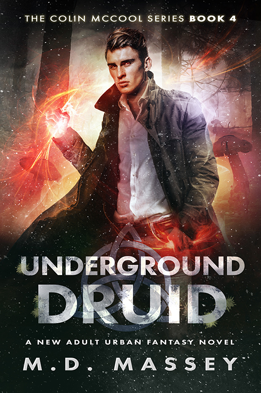 Underground Druid urban fantasy novel