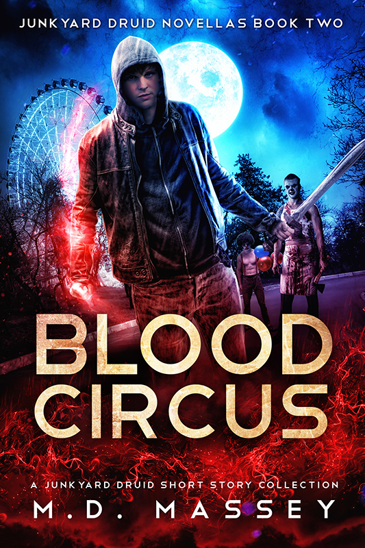 Blood Circus an urban fantasy short story collection