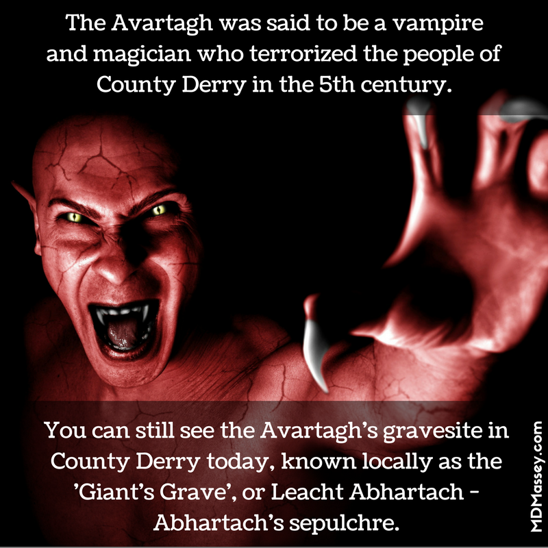 the legend of the Abhartach