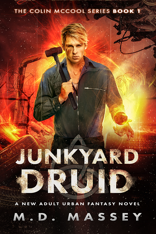 Junkyard Druid urban fantasy novel