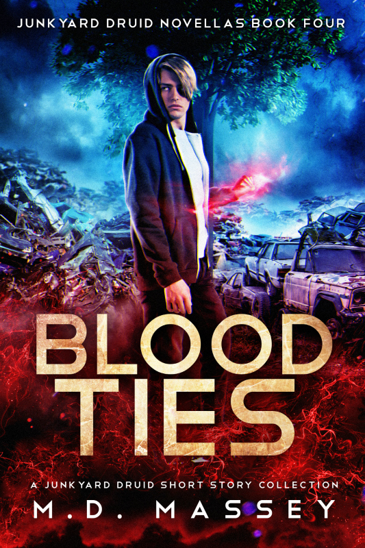 Blood Ties a Junkyard Druid Urban Fantasy short story collection