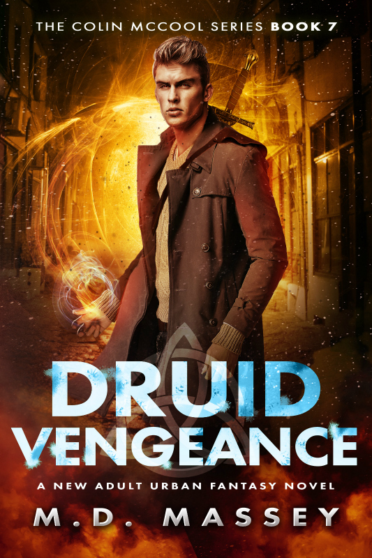 Druid Vengeance a new adult urban fantasy novel