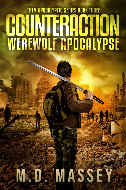 Counteraction Werewolf Apocalypse post-apocalyptic novel