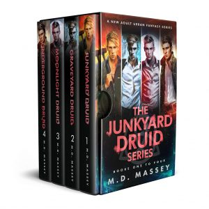 Junkyard Druid urban fantasy boxset cover books 1-4