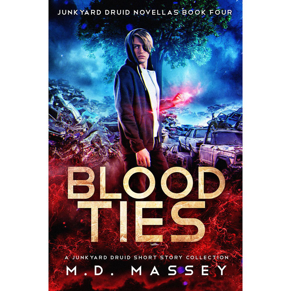 Blood Ties urban fantasy short story collection cover