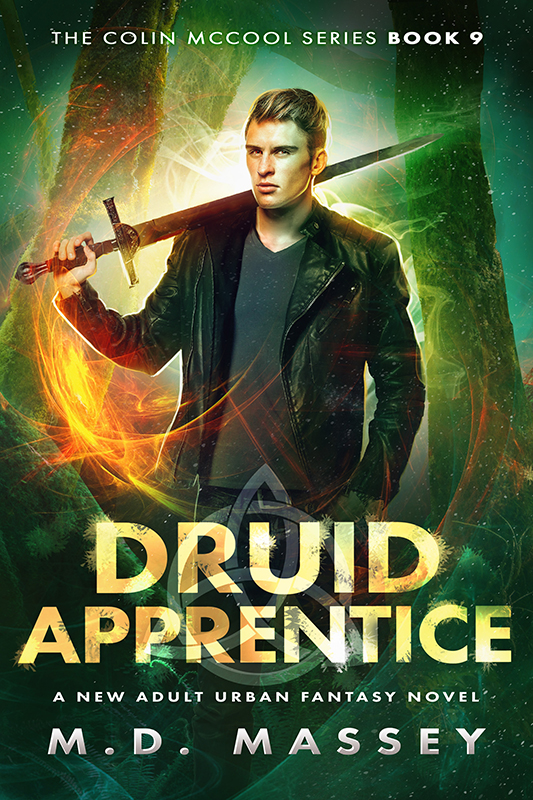 Druid Apprentice urban fantasy novel