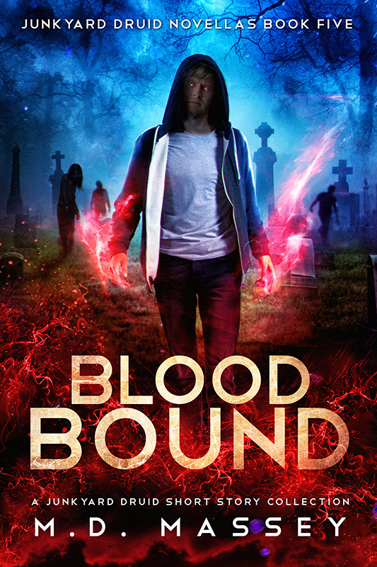 Blood Bound a Junkyard Druid urban fantasy short story collection