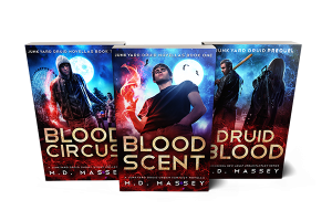 Junkyard Druid urban fantasy books