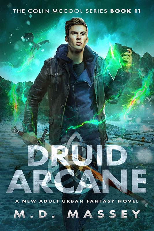 Druid Arcane urban fantasy novel norse mythology