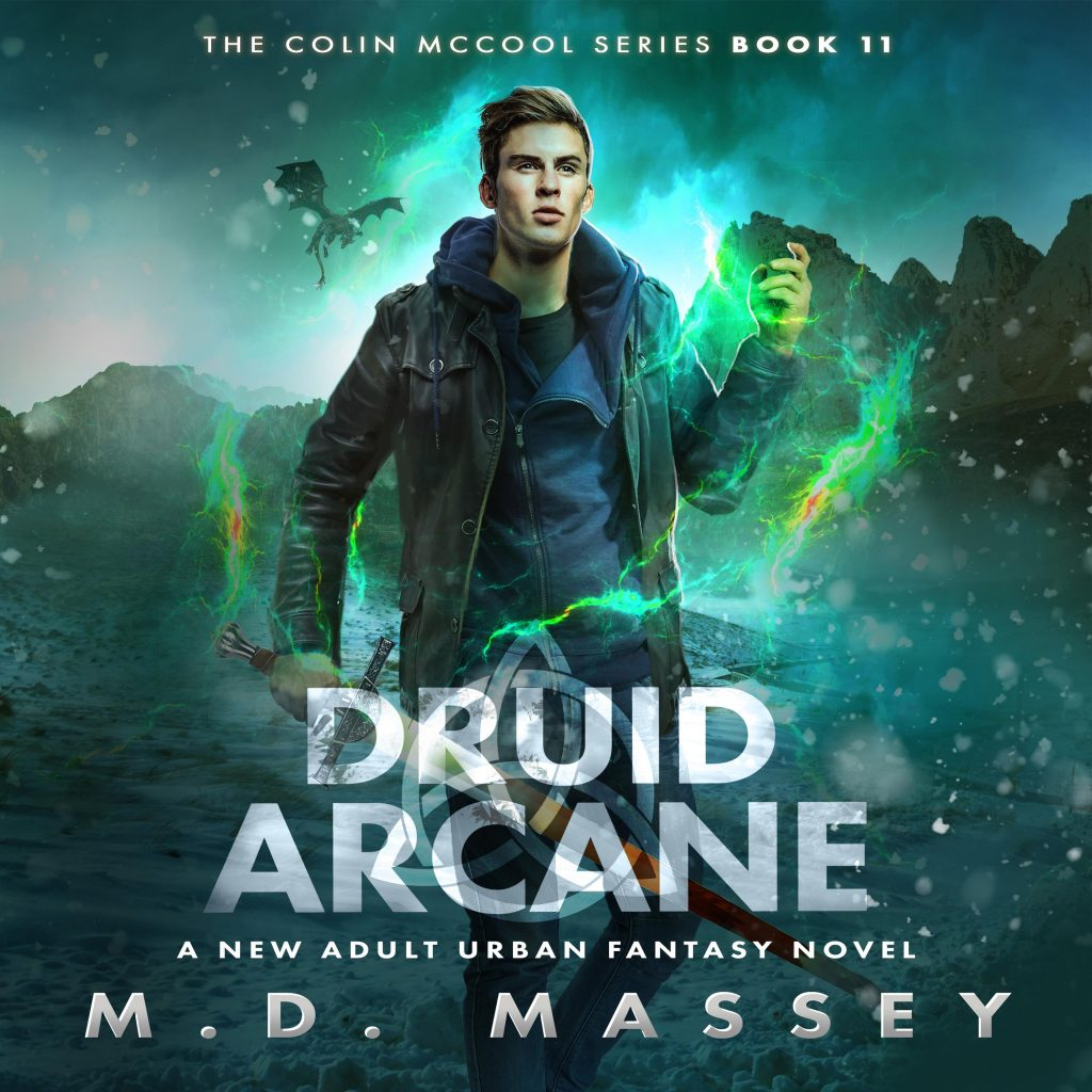 Druid Arcane audiobook cover