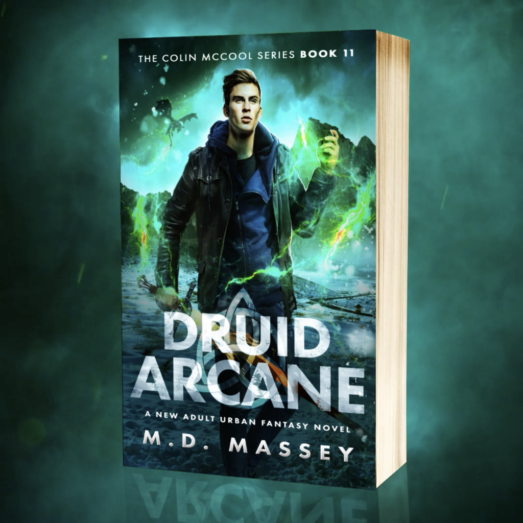 Druid Arcane urban fantasy book trailer screenshot