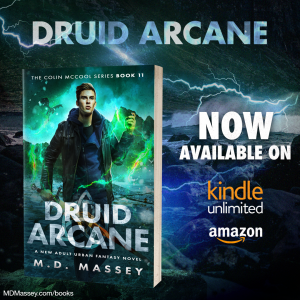Druid Arcance urban fantasy novel