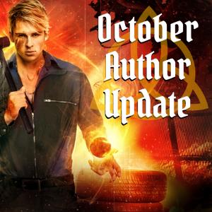 urban fantasy author update October 2020