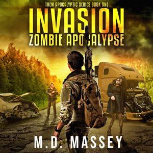 THEM apocalypse urban fantasy author novel