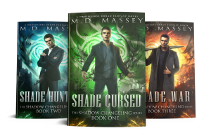 Shadow Changeling urban fantasy novel series