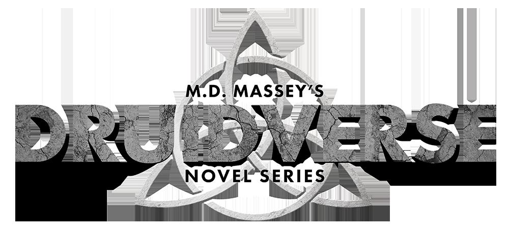 Druidverse urban fantasy novel series logo
