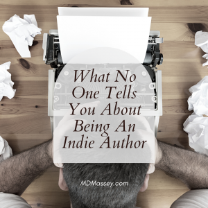 what no one tells you about being an indie author