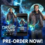 About Druid's Curse a Druidverse urban fantasy novel by MD Massey
